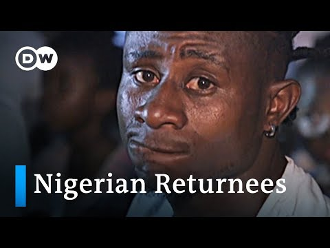 Migrants fleeing South Africa arrive in Nigeria | DW News
