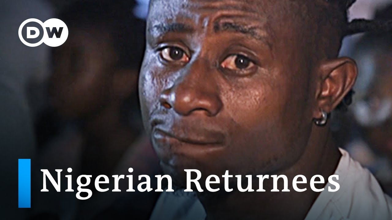 Migrants fleeing South Africa arrive in Nigeria | DW News