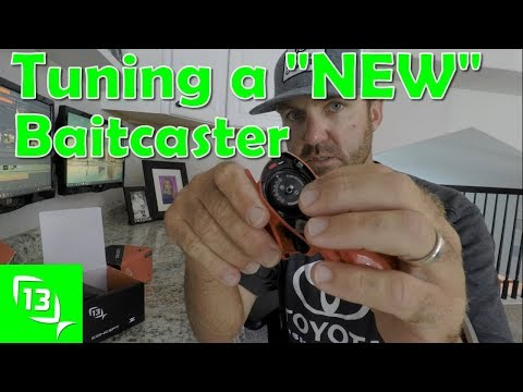 How To Adjust a NEW 13 Fishing Baitcaster Reel