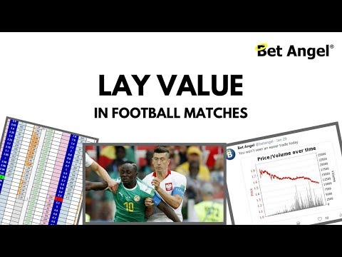 Peter Webb - Finding lay value in football matches