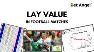 Finding lay value in football matches during The World Cup 2018