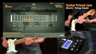 Roland Guitar Friend Jam Demo #1; Rock