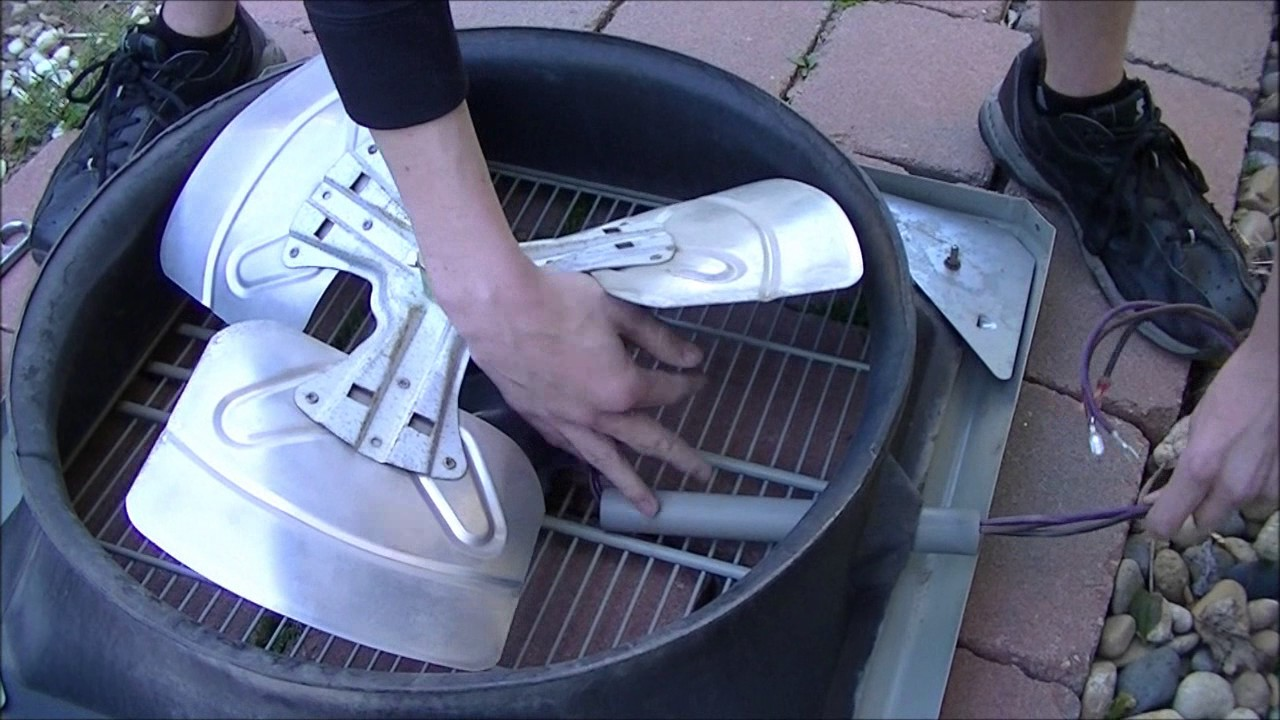 How To Replace Trane Central AC Condenser Fan Motor  YouTube