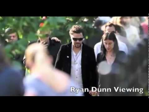 Ryan Dunns Funeral Youtube