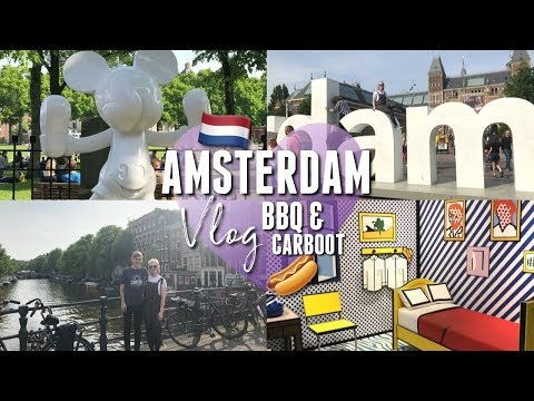 Carboot Sale, Sunny BBQin' & AMSTERDAM! | thisgirlcalledholly