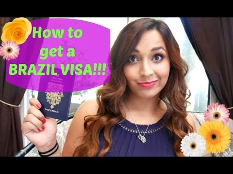 How to get a Brazil Visa as a Canadian Tourist + some tips!
