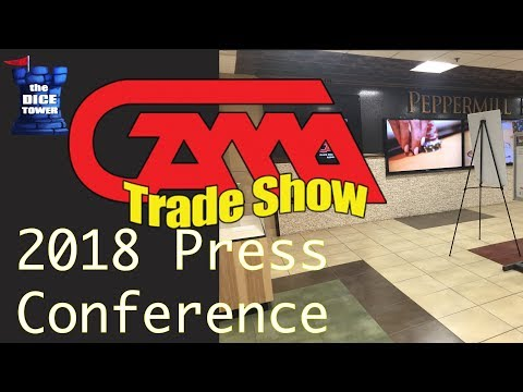 GAMA Trade Show 2018 Press Conference