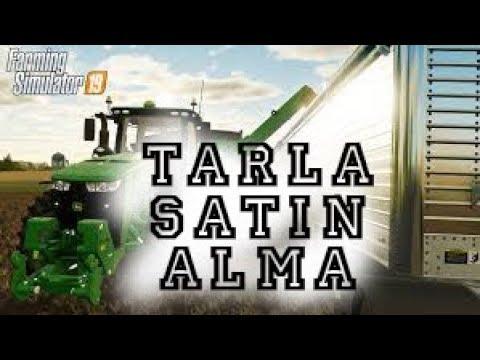 Farming Simulator 19 - İlk Bakış - Arsa Almak Ve Ata Binmek!