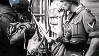 Тяжелые бои за Ростов. Фашисты уже на улицах города, июль 1942  ... Трофейная кинохроника