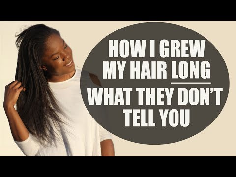 Grow Long Relaxed Hair: One Thing I Wish I Knew Earlier
