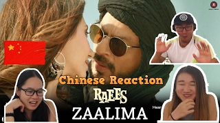 Chinese React To Zaalima  Raees Grini & Jamila   ر�� ف�� ا������� ل����� ظ����/ ر���