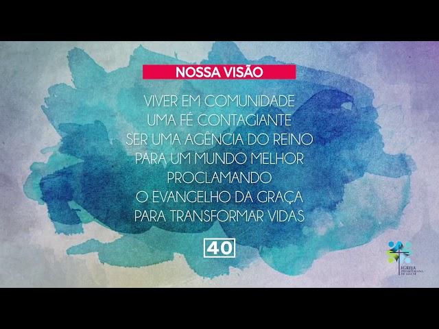 ESCOLA BÍBLICA DOMINICAL - 18/10/2020