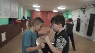 Тренировка 09 февраля 2021 года. Группа №3 Киокусинкай Каратэ Климовск