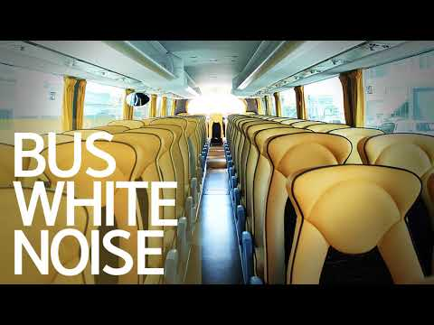 Bus Driving Sounds, Bus Sound Effect, White Noise, Sleep Noise, Concentration, ASMR, बस, 버스, 백색소음 #2