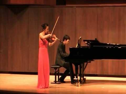 Jisoo Kim Franck Sonata ( 2nd mov)