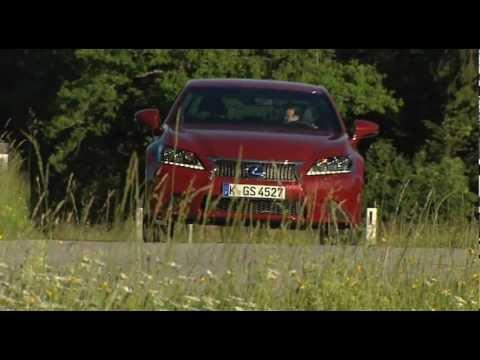 2013  New Lexus GS 450h    non commercial video