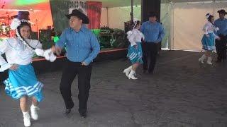 Ballet Folklorico Fiesta Mexicana Dances At A Jalapeños Restaurant (cinco De Mayo) 2015