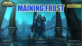 Frost DK/Resto Sham Rated 2s- Maining Frost (WoW 7.3.2 Legion PVP)