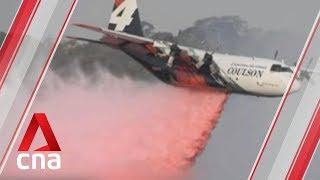 Australian officials probe plane crash that killed 3 American firefighters
