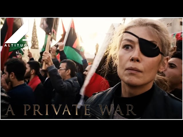 A PRIVATE WAR - OFFICIAL UK TRAILER - ONE NIGHT ONLY IN CINEMAS FEB 4 | IN CINEMAS FEB 15