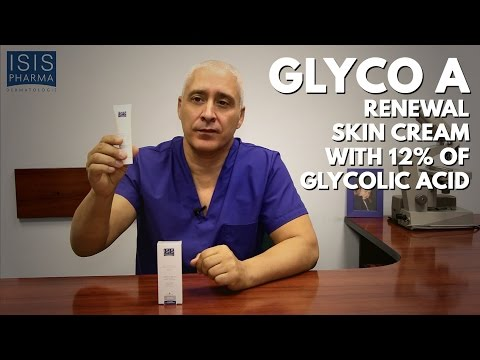 Glyco A - Renewal skin cream with 12% of glycolic acid