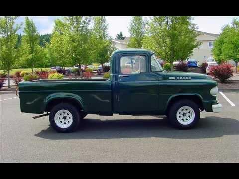 1960 Dodge D100 Short Bed Pickup Sold Youtube