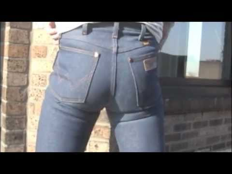 Me In Tight Dark Wrangler Jeans Youtube