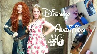 My 6th Disney Audition Recap + Thoughts on MOTIVATION || Jessica Rose