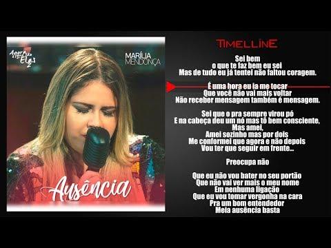 Marília Mendonça - Ausência (Agora Que São Elas 2) (DOWNLOAD LETRA)