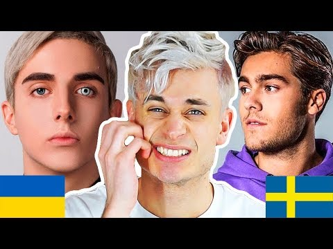 REACTING TO EUROVISION 2018, PART 2 - Sweden, Ukraine, Great Britain, Poland, Germany, Ireland, etc