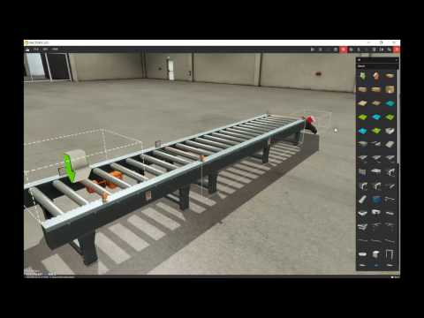 Factory IO Tutorial #1 (The 3 Cameras available to Navigate a Scene)