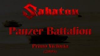 Repeat youtube video Sabaton - Panzer Battalion (Lyrics English & Deutsch)