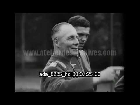 Rommel rends visite à la famille Goebbels