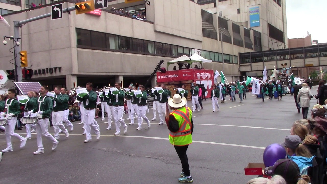 Fanfarenzug Dresden 2019 Calgary Stampede Parade Youtube