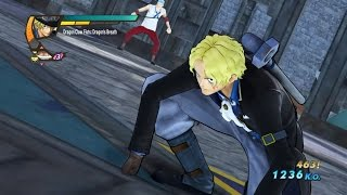 One Piece Pirate Warriors 3 Sabo Level 100 Gameplay