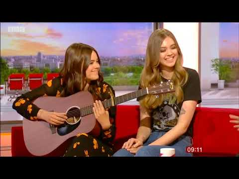 First Aid Kit on BBC Breakfast. Klara and Johanna Söderberg. Fireworks. 25 May 2018