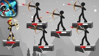 MR BOW - Walkthrough Gameplay Part 1 - INTRO (Stickman Game iOS)