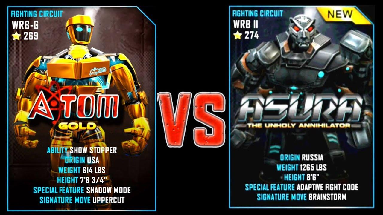 Real Steel Scorpion Vs Asura New Robots Christmas Update Dibujos