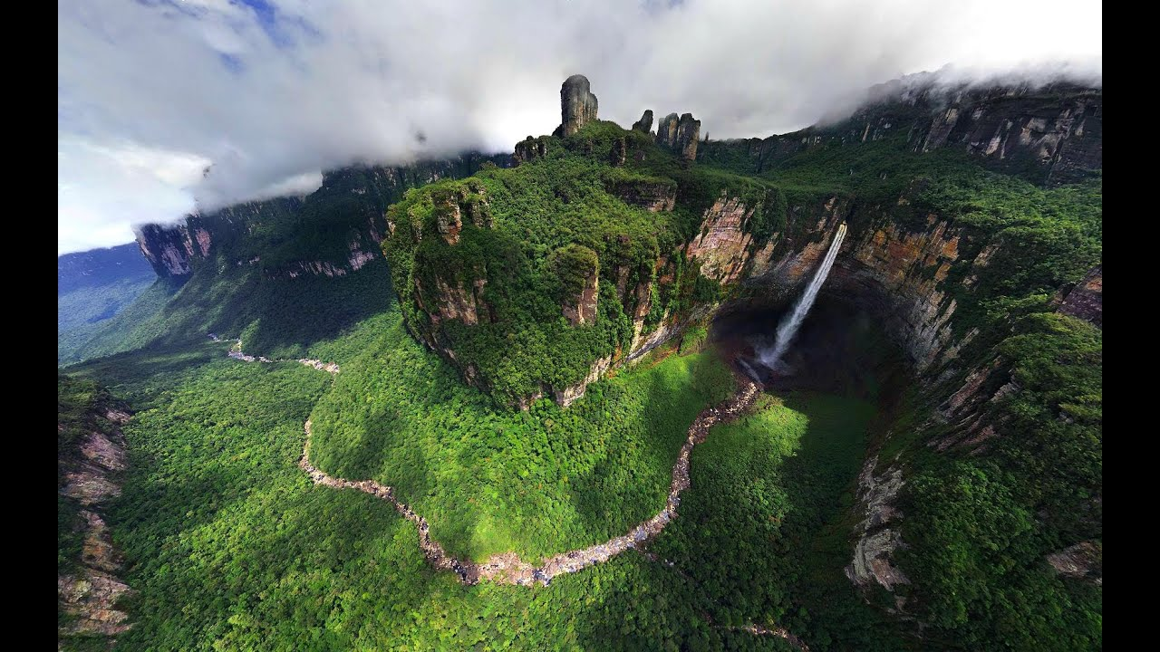 Angel Falls Venezuela Wallpaper Treiler Venezuela Views Hd Short Video Youtube