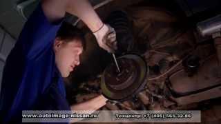Замена заднего правого подшипника ступицы Nissan x-trail