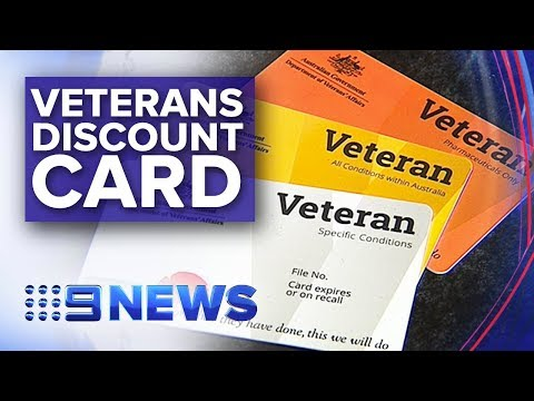 New Card Provides Thousands Of Discounts For Veterans | Nine News Australia