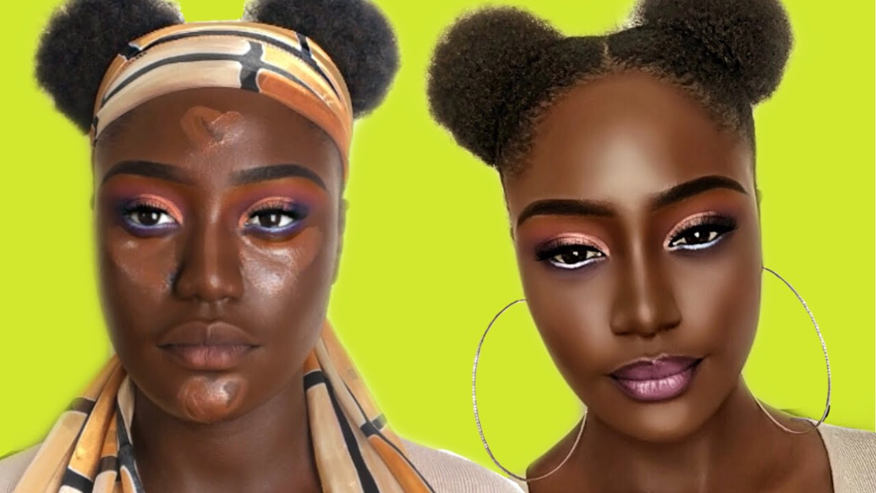 Download HOW TO CONTOUR AND HIGHLIGHT DARK SKIN FRIENDLY