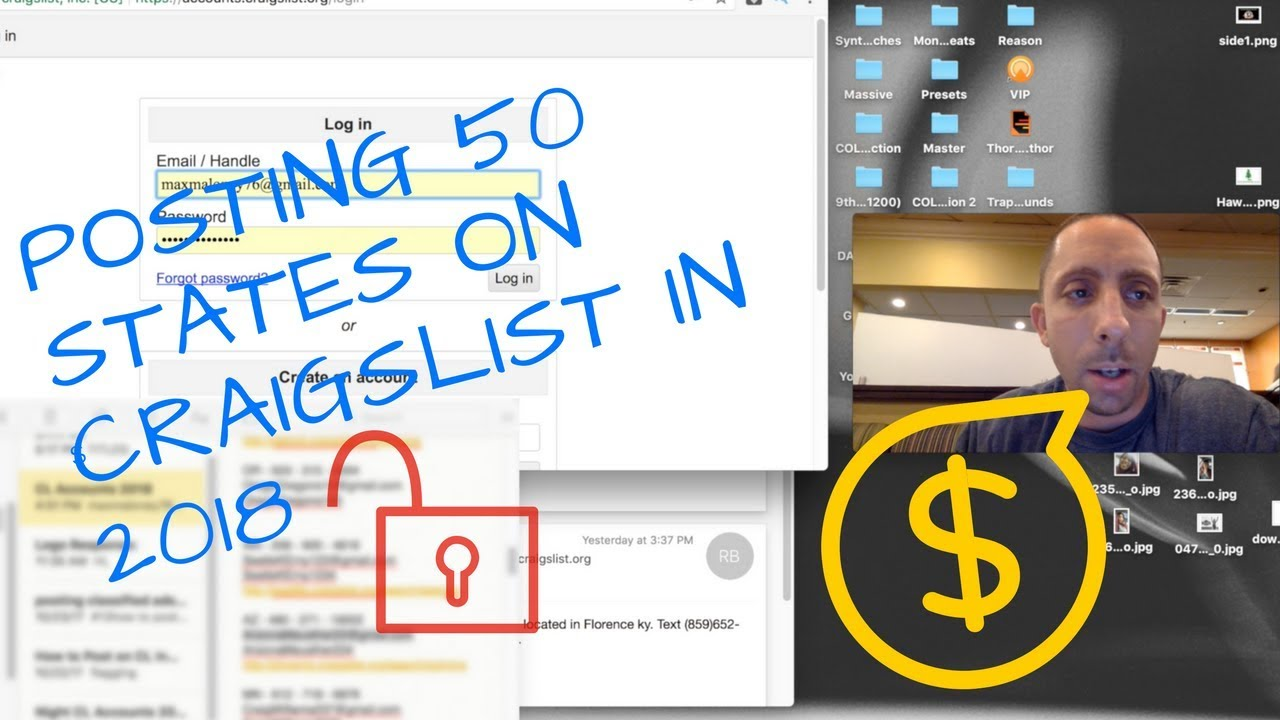 How To Post In 50 States On Craigslist In 2018 - YouTube