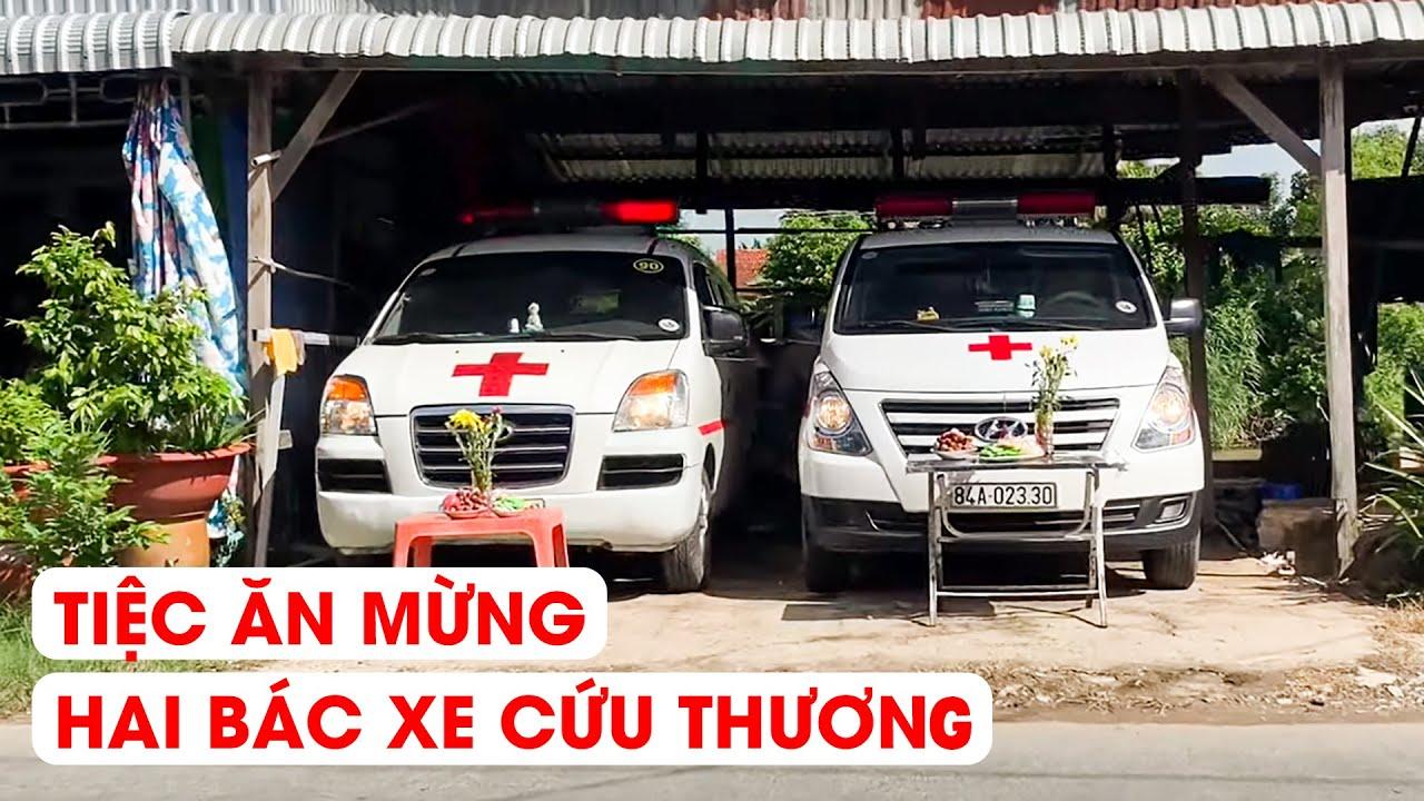 Ăn mừng mua được xe cứu thương phục vụ bà con nghèo ở An Giang...!