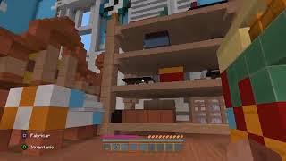 Le enseño a mi mamá la casa de Andy. Toy Story de Minecraft.