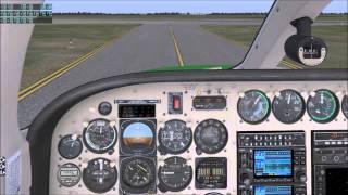 X-Plane 10 / Folge 6 / Cessna 340 mit eigener Livery / Platzrunde EDDW