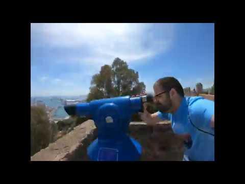 Castillo Gibralfaro (Malaga-Spain) TimeWarp GoPro 7 HB
