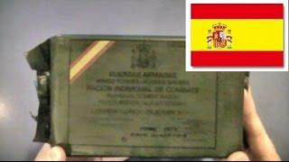 スペイン軍の戦闘糧食を喫食す! ☆Eat the Spanish Army's Combat-ratio...
