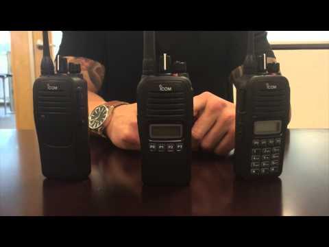Icom IC-F1000 / IC-F2000 Radio
