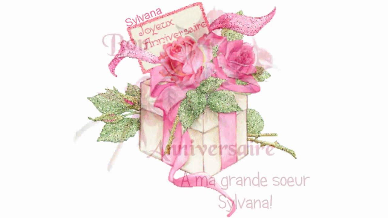 Happy Birthday Feliz Cumpleaños Bon Anniversaire ~ Happy birthday feliz compleaños joyeux anniversaire sylvana ! youtube